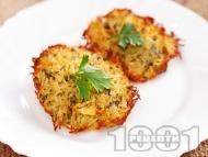 Картофени рьощи на фурна (гарнитура за месо и риба)